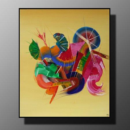 Tableau Musique - Collection Paradis Sur Terre - Peinture Sur Toile